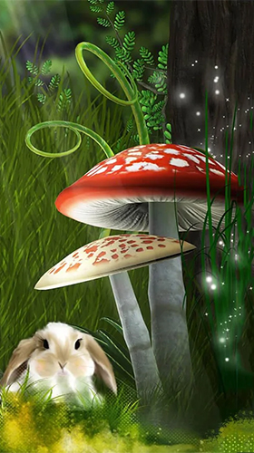 Download Fantasy Live Wallpaper Fairy tale by Art LWP für Android kostenlos.