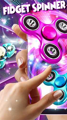 Kostenlos Live Wallpaper Fidget spinner by High quality live wallpapers für Android Smartphones und Tablets downloaden.