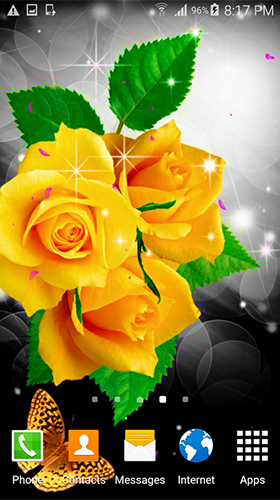 Download Blumen Live Wallpaper Flowers by villeHugh für Android kostenlos.