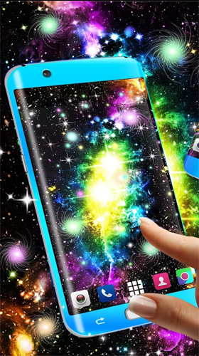 Download Live Wallpaper Glowing by High quality live wallpapers für Android-Handy kostenlos.