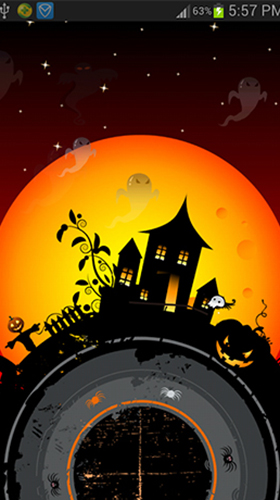 Download Fantasy Live Wallpaper Halloween by live wallpaper HongKong für Android kostenlos.
