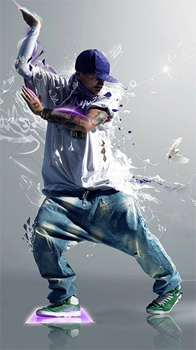 Download Musik Live Wallpaper Hip Hop dance für Android kostenlos.