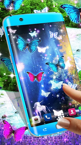 Kostenlos Live Wallpaper Magical forest by HD Wallpaper themes für Android Smartphones und Tablets downloaden.