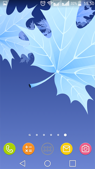 Kostenlos Live Wallpaper Maple Leaves für Android Smartphones und Tablets downloaden.