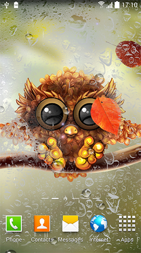 Kostenlos Live Wallpaper Owl by Live Wallpapers 3D für Android Smartphones und Tablets downloaden.