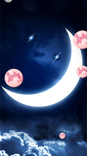 Download Fantasy Live Wallpaper The Moon für Android kostenlos.