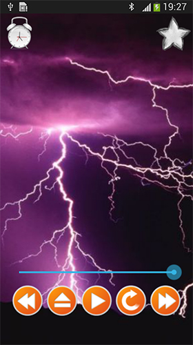 Download Musik Live Wallpaper Thunderstorm sounds für Android kostenlos.