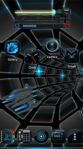 Download Hi-Tech Live Wallpaper Time battle 3D für Android kostenlos.