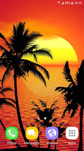 Download Live Wallpaper Tropical by BlackBird Wallpapers für Android-Handy kostenlos.