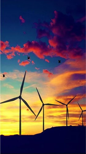 Download Interaktiv Live Wallpaper Windmill by Live Wallpapers HD für Android kostenlos.