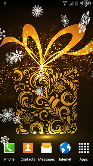 Download Feiertage Live Wallpaper Abstract: Christmas für Android kostenlos.