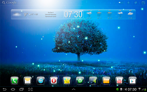 Download Landschaft Live Wallpaper Awesome land 2 für Android kostenlos.