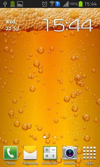 Download Live Wallpaper Beer für Android 4.1.2 kostenlos.