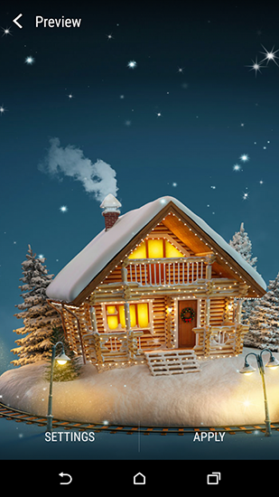 Download Feiertage Live Wallpaper Christmas 3D by Wallpaper qhd für Android kostenlos.