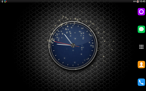 Kostenlos Live Wallpaper Clock by T-Me Clocks für Android Smartphones und Tablets downloaden.