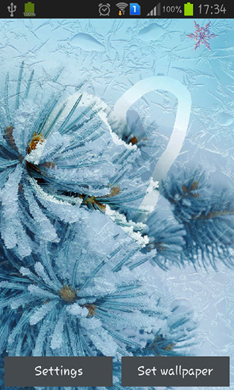 Download Interaktiv Live Wallpaper Draw on the frozen screen für Android kostenlos.