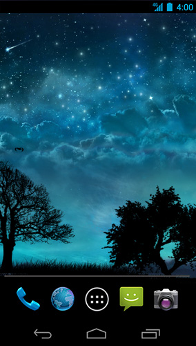 Download Live Wallpaper Dream night für Android-Handy kostenlos.