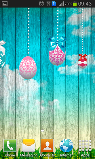 Download Feiertage Live Wallpaper Easter by Brogent technologies für Android kostenlos.