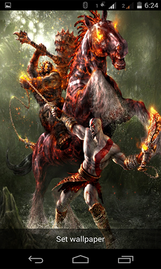 Download Spiele Live Wallpaper God of war für Android kostenlos.