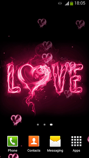 Download Feiertage Live Wallpaper I love you by Lux live wallpapers für Android kostenlos.