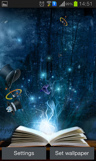 Download Fantasy Live Wallpaper Magic by Happy live wallpapers für Android kostenlos.