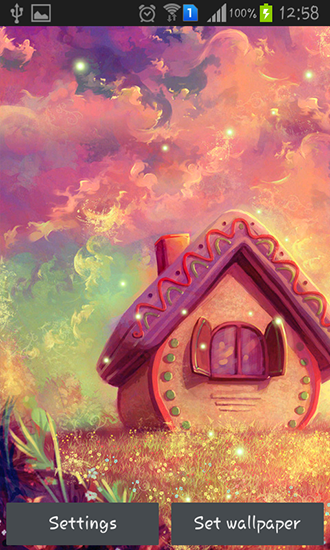 Download Live Wallpaper Sweet home für Android 4.1.2 kostenlos.