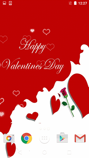 Download Feiertage Live Wallpaper Valentines Day by Free wallpapers and background für Android kostenlos.