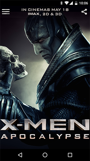 Download Kino Live Wallpaper X-men für Android kostenlos.