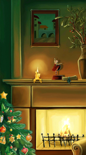 Christmas fireplace by Amax LWPS