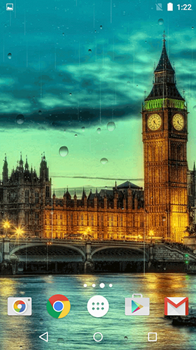 Rainy London by Phoenix Live Wallpapers