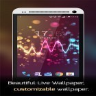 Live Wallpaper Beautiful music visualizer apk auf den Desktop deines Smartphones oder Tablets downloaden.