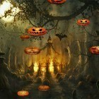 Live Wallpaper Halloween by FlipToDigital apk auf den Desktop deines Smartphones oder Tablets downloaden.