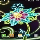 Live Wallpaper Neon flowers by Live Wallpapers 3D apk auf den Desktop deines Smartphones oder Tablets downloaden.