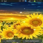 Neben Live Wallpapern für Android Maple Leaves kannst du die apk des Hintergrunds Sunflower by Creative factory wallpapers gratis herunterladen.